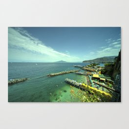 Sorrento Vista Canvas Print