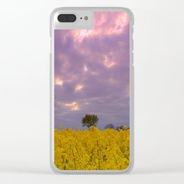 Blooming in yellow # Clear iPhone Case