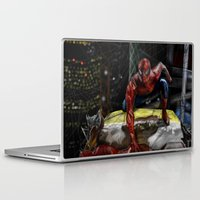comic Laptop & iPad Skins featuring comic by Fila Venom Art