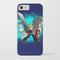 scott pilgrim iPhone & iPod Cases featuring Cloud Pilgrim by CjBouchermedia