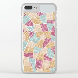 Habana map Clear iPhone Case
