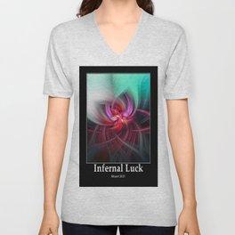 Infernal Luck Unisex V-Neck