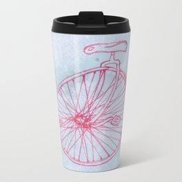 Unicycle Metal Travel Mug