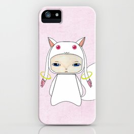A Boy - Kyubey iPhone Case