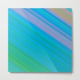 Diagonal Stripes #1 Metal Print