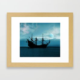 In The Still Of The Night ... By LadyShalene Framed Art Print