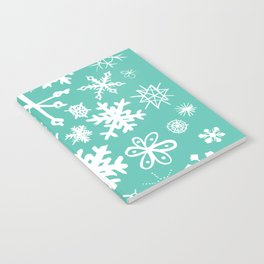 Snowflake Pond Notebook