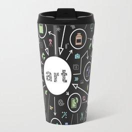 Art the scheme Travel Mug