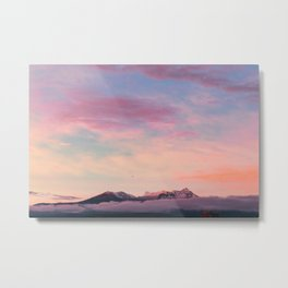 Mexican sunset #society6 #decor #buyart Metal Print