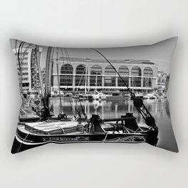 St Katherines Dock London  Rectangular Pillow