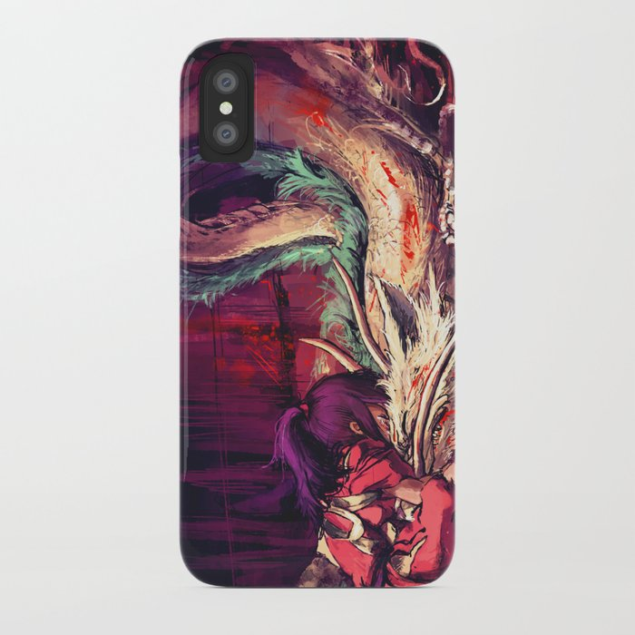 Bleed iPhone Case