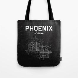 Phoenix, Arizona - b/w Tote Bag