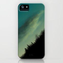 Sunset Over Jordan Lake iPhone Case