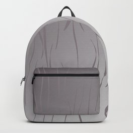 wild design exotic lines Silver Backpack