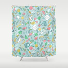 Fitness Shower Curtain