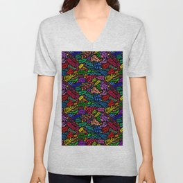 All the Colors Unisex V-Neck