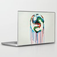 world cup Laptop & iPad Skins featuring Bleed World Cup by DesignYourLife