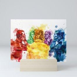 Auditory hallucinations Mini Art Print