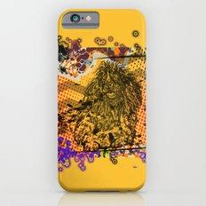 Poodle pop art iPhone 6s Slim Case