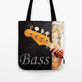 Bass Guitar neck , musical instrument  Tote Bag