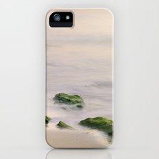 Green rocks at sunset iPhone (5, 5s) Slim Case