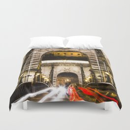 Budapest Chain Bridge Duvet Cover