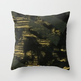 Understructure 5 Throw Pillow