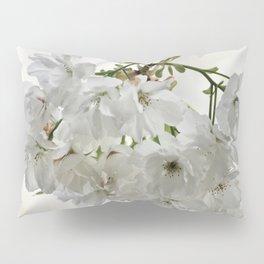 SPRING BLOSSOMS - IN WHITE - IN MEMORY OF MACKENZIE Pillow Sham