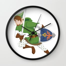 Nate-Link Wall Clock