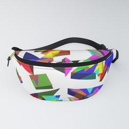 geometric triangles Fanny Pack