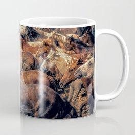 Wild horses. Coffee Mug