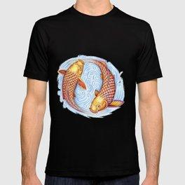 Pisces Fish Yin Yang Mandala T-shirt