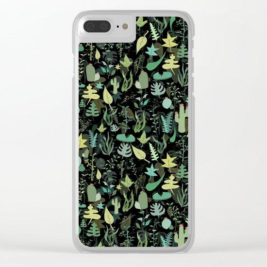 Nature Stuff Clear iPhone Case
