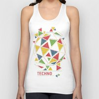 deadmau5 Tank Tops featuring Techno by Sitchko Igor