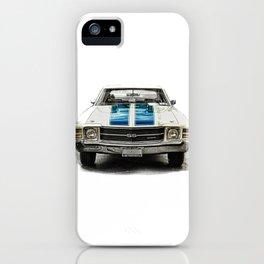 CLASSIC CAR LOVE iPhone Case