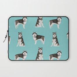 Alaskan malamute  dog breed pet lover malamute gifts Laptop Sleeve