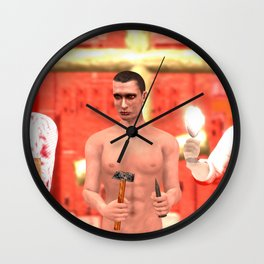 SquaRed: I cannot trust you Wall Clock