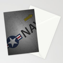 U.S. Military Warbird Naval Aircraft Skin Stationery Cards