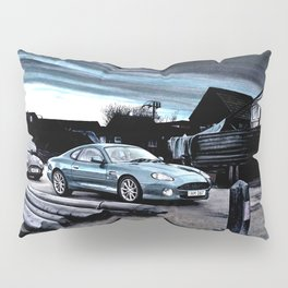 ASTON MARTIN AUTOMOBILE AT ENGLISH HARBOUR Pillow Sham