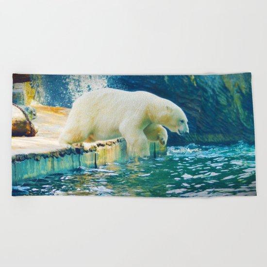 Polar Beach Towel