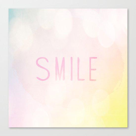 Smile a lot Canvas Print