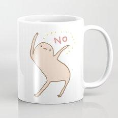 Honest Blob Says No Mug