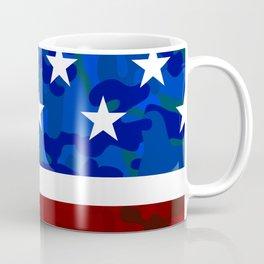 Stars & Stripes (Camouflage) Coffee Mug