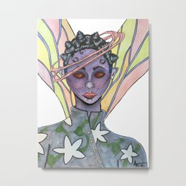 Fatiana the dragonfly fairy  Metal Print