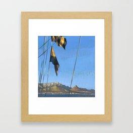 South Africa, le Cap Framed Art Print