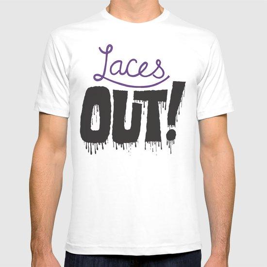 Laces out! T-shirt