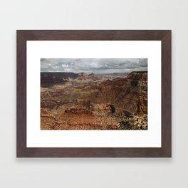 Grand Canyon Storm Framed Art Print
