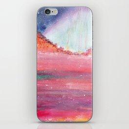 Magical Red Sea Watercolor Art iPhone Skin