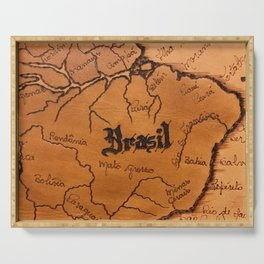 Brazil Expedition Serving Tray
