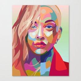 Xtina Canvas Print